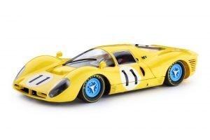 Policar PCAR06B Ferrari 412 P4 Yellow