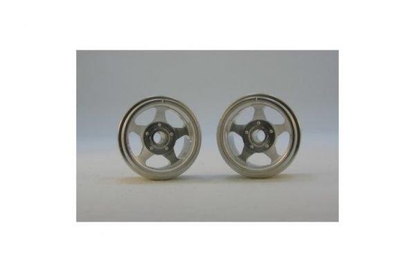 CB Design CBD0165 5-Spoke Classic Wheels 15x8mm (Silver)