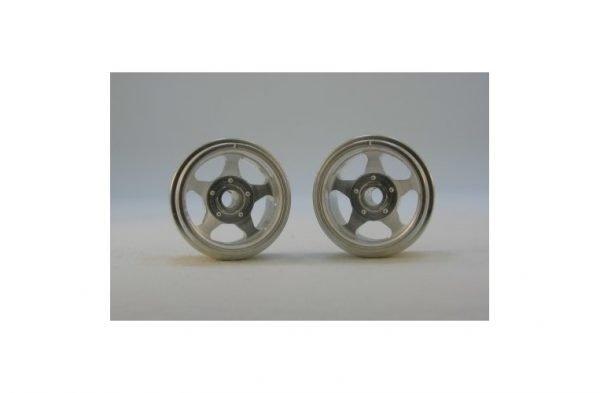 CB Design CBD0315 5-Spoke Classic Wheels 15x12mm (Silver)