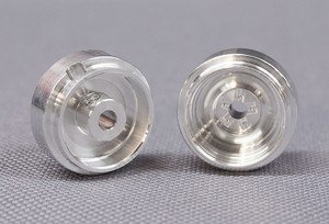 CB Design CBD0450 1:32 Classic Steel Wheels 15x8mm (Silver)