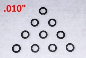 Slot Car Corner GS-01010-N SCC Nylon Guide Spacers (.010″ Thick)