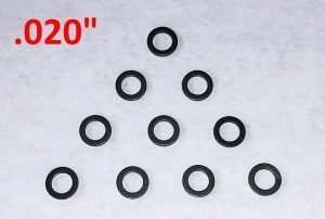 Slot Car Corner GS-02010-N SCC Nylon Guide Spacers (.020″ Thick)
