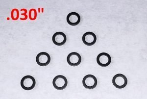 Slot Car Corner GS-03010-N SCC Nylon Guide Spacers (.030″ Thick)