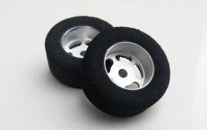 H&R HR1201 27 x 12 mm Foam Tires w/Wheels 1/8th Axle
