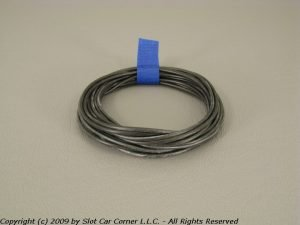 Slot Car Corner SW-03100 SCC Silicone Motor Lead Wire Black (3 Feet)