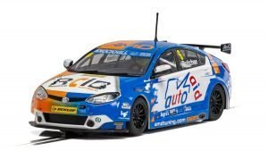 Scalextric C4017 MG6 GT AMD BTCC 2018