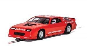Scalextric C4073 Chevrolet Camaro Z28 'BUDWEISER' IROC-Z RED