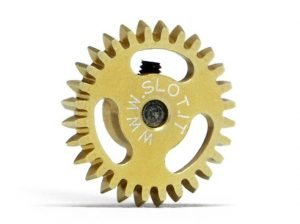 Slot.It SIGA1628E Gear, 28T, Anglewinder, ERGAL