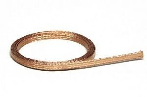 Slot.It SISP19 Accessories, Braid, Copper (1m)