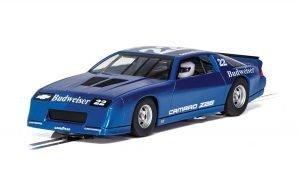 Scalextric C4145 Chevrolet Camaro Z28 'BUDWEISER' IROC-Z BLUE