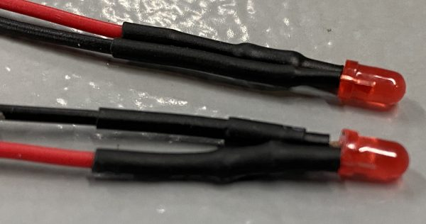 P1 Slot Cars Red LED Taillights