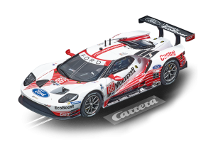 Carrera 27619 Ford GT Race Car No.66 Motorcraft Evolution 132 20027619