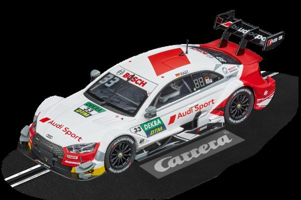 Carrera 27634 Audi RS 5 DTM R.Rast, No.33 White Evolution 132 20027634