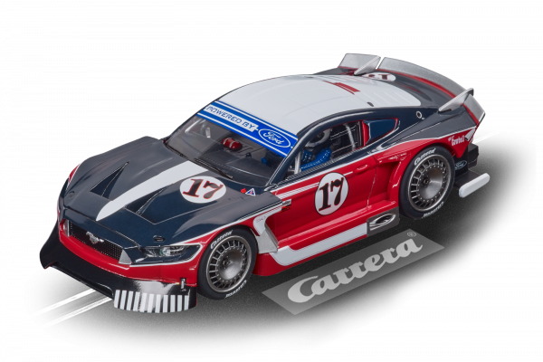 Carrera 27636 Ford Mustang GTY No.17 Red Evolution 132 20027636