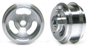 Slot.It SIW15808215AF Aluminum Wheels Double Shoulder Short Hubs 15.8×8.2×1.5mm