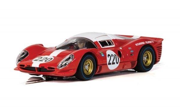 Scalextric C4163 Ferrari 412P #220 Targa Florio 1967