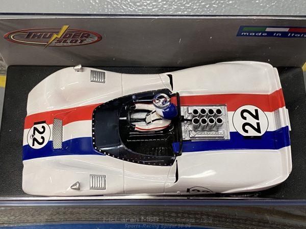 Thunder Slot CA00305S/W McLaren M6B 1968 Can-Am Sports Racing Spyder #22