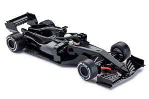 Policar PCAR07-BLACK Monoposto Generic Modern F1 Black