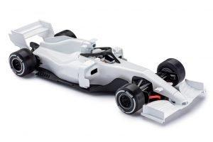 Policar PCAR07-WHITE Monoposto Generic Modern F1 White