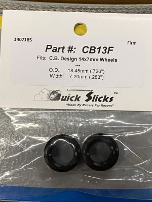 Quick Slicks CB13F (Firm) Silicone Tires