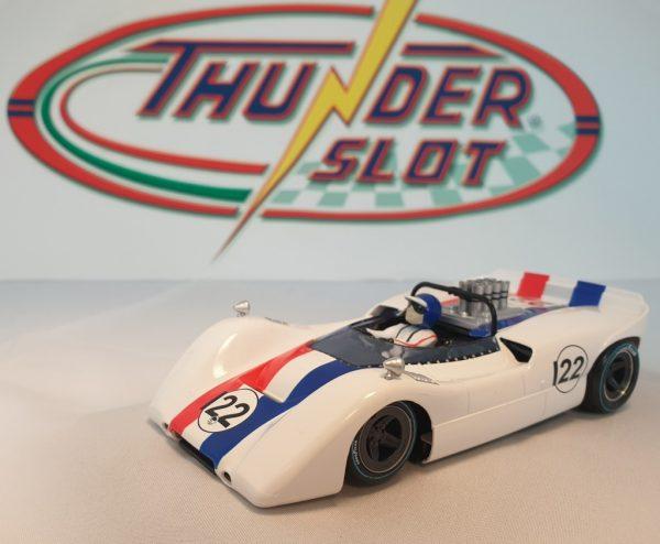 Thunderslot THCA00305S/W Mclaren M6B 1968 Can-Am Sports Racing Spyder #22