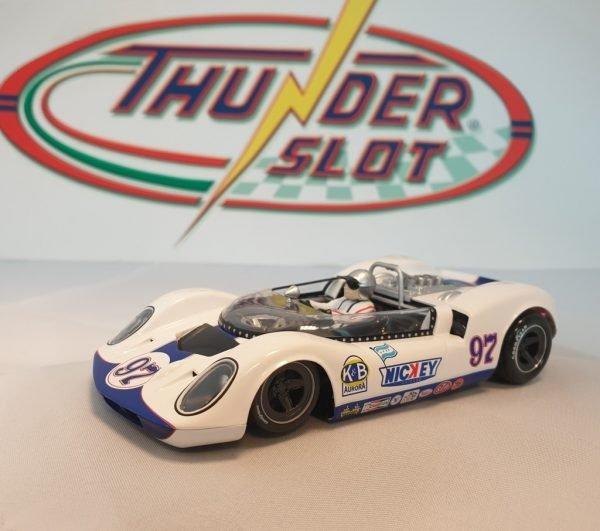 Thunderslot THCA00404S/W McLaren Elva MK1 Can-Am Nassau 1965 Charlie Haye Nickey #97
