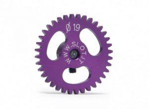 """Slot.It SIGS1936 Gear, 36T, Sidewinder, ERGAL, 19mm, Light, """"PURPLE"""""""