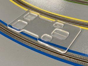 1/32 Slot Car Body Mounting Block