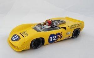 Thunder Slot CA00204S/W Lola T70 Mosport Park Can-Am 1967 Roger McClusky #12
