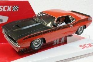 SCX Cuda 1970 Trans Am Limited Edition Serial # – Orange
