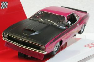 SCX Cuda 1970 Trans Am Limited Edition Serial # – Pink
