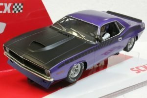 SCX Cuda 1970 Trans Am Limited Edition Serial # – Purple