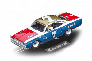 Carrera 27641 Plymouth Roadrunner Ramo Stott No.7 Evolution 132 20027641
