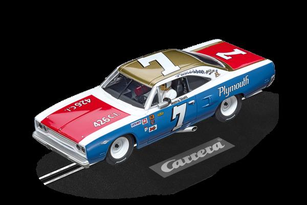 Carrera 27641 Plymouth Roadrunner Ramo Stott No.7 Evolution 132 20027641