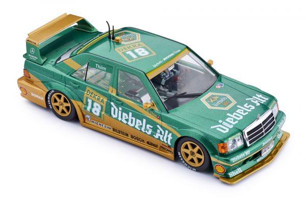 Slot.It SICA44A Mercedes 190e DTM Diebels Alt #18 1st Zolder 1992