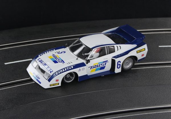 Racer Sideways Toyota Celica White and Blue Group 5 SW71