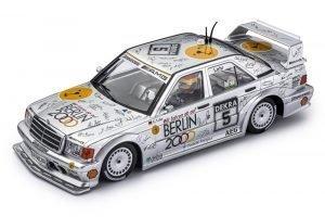 Slot.It SICA44C Mercedes 190e DTM 1992 1st Hockenheim #5 Ellen Lohr – Berlin 2000 Olympics Bid