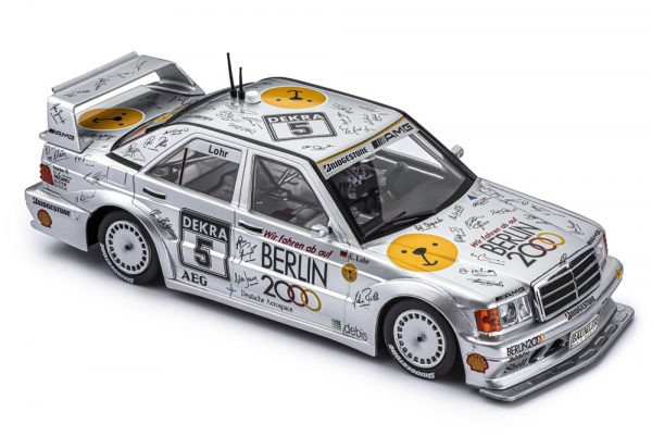 Slot.It SICA44C Mercedes 190e DTM 1992 1st Hockenheim #5 Ellen Lohr - Berlin 2000 Olympics Bid
