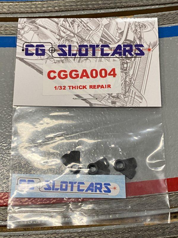 CG Slotcars CGGA04 Guide repair post/adapter 1/32 thick base 3D Printed (3 Per Pack)v