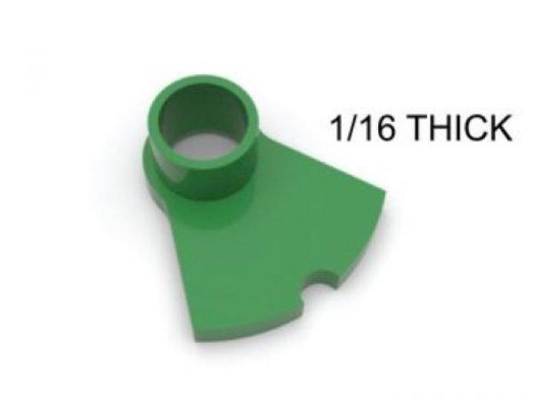 CG Slotcars CGGA05 Guide repair post/adapter 1/16 thick base 3D Printed (3 Per Pack)