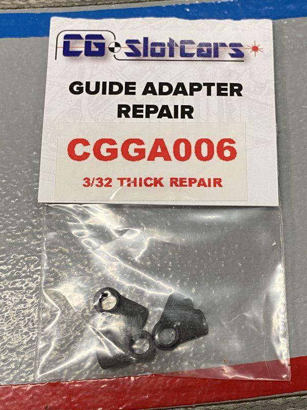 CG Slotcars CGGA06 Guide repair post/adapter 3/32 thick base 3D Printed (3 Per Pack)