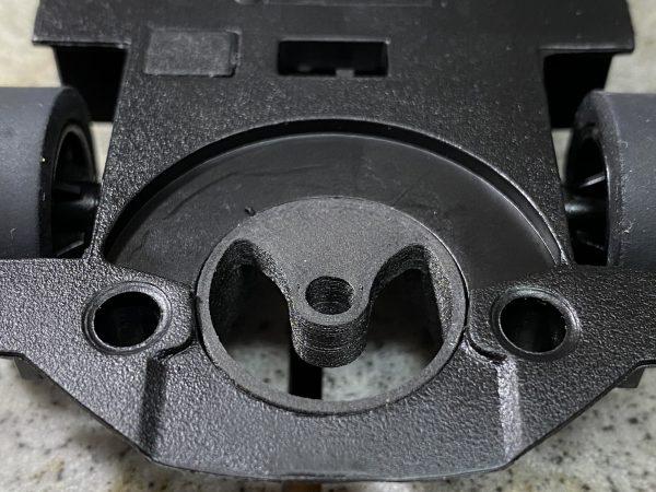 CG Slotcars CGGA08 3D Printed Carrera Guide Adapter Screw-In Rear Mount with Guide