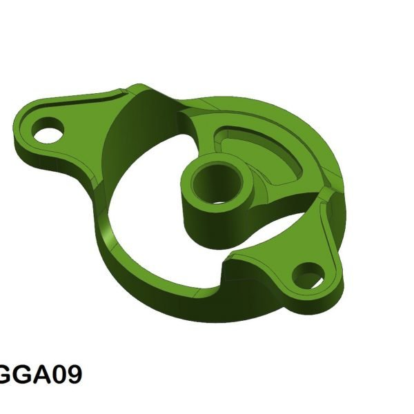 CG Slotcars CGGA09 3D Printed Carrera Guide Adapter Screw-In Front Mount with Guide