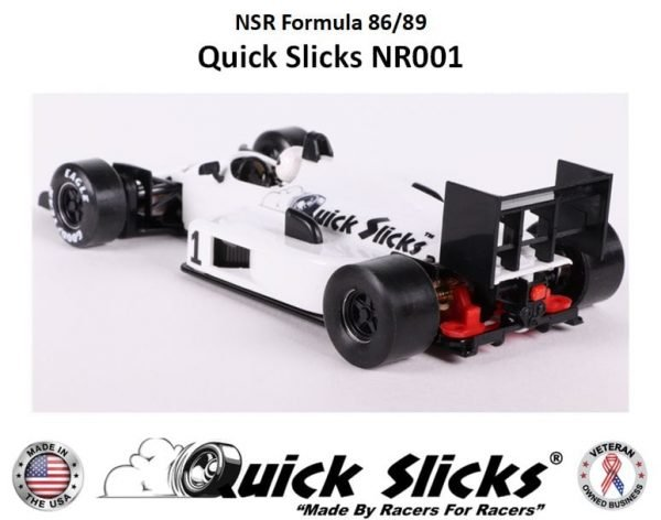 Quick Slicks NR001F (Firm) Silicone Tires For NSR F1 Formula 86/89