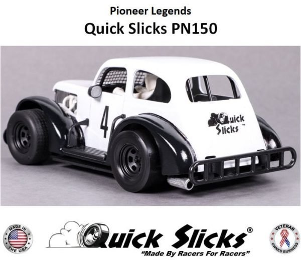 Quick Slicks PN150F (Firm) Silicone Tires For Pioneer Legends