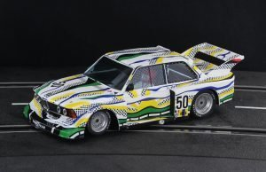 Racer Sideways BMW 320 Group 5 Le Mans 1977 Art Car SW72