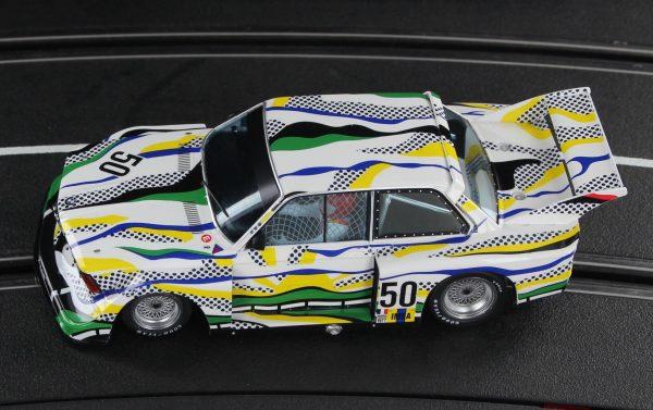 Racer Sideways BMW 320 Group 5 Le Mans 24 HRS 1977 Roy Lichtenstein Art Car SW72