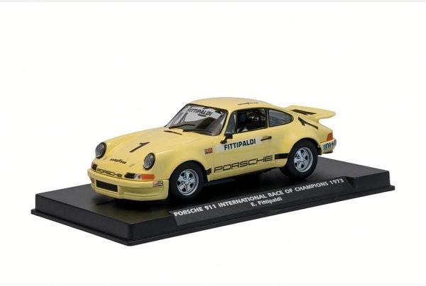 Fly Porsche 911 IROC Yellow #1 Fittipaldi W036-03