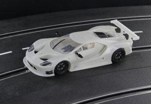 Racer Sideways Ford GT GTE White Kit SWCAR02K