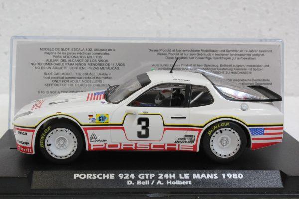 Fly Porsche 924 GTP 24H Le Mans 1980 D.Bell - A.Holbert E2026A
